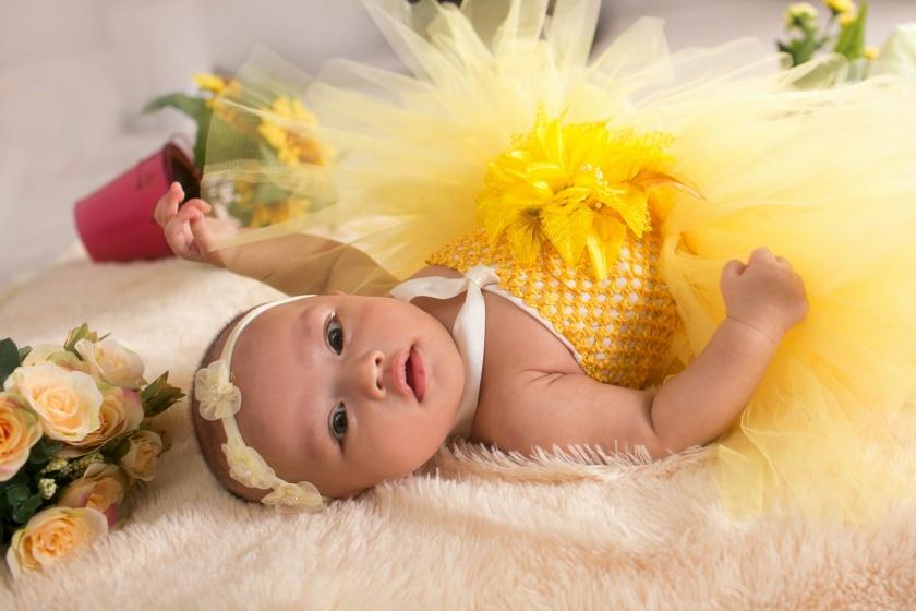 Aqila umur 2 bulanan, foto oleh: Hera Pictures (@herapictures)