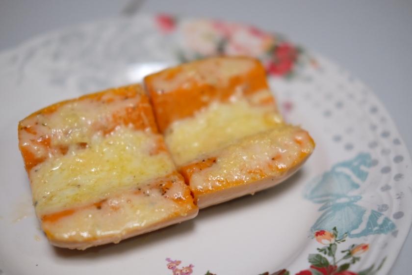 baked pumpkin triple cheese