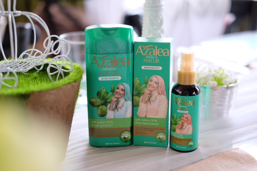 azalea hair care